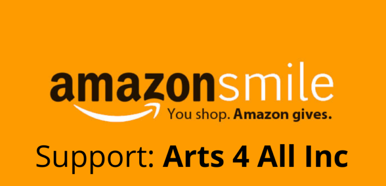 amazon smile support arts4all inc